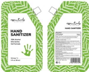 Essentials by Urban Secrets Hand Sanitizer Brands