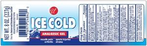 Universal Ice Cold Analgesic Brands